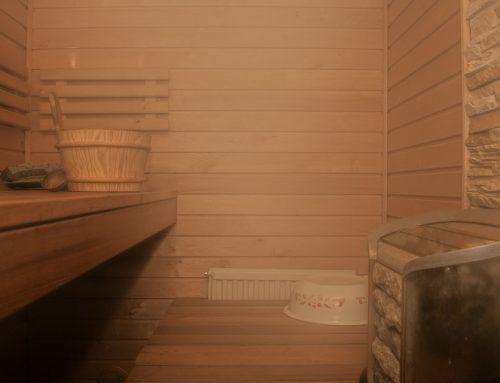 Sauna a bazén